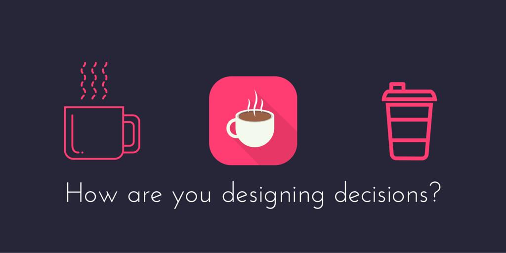 Designing behavioral marketing decisions