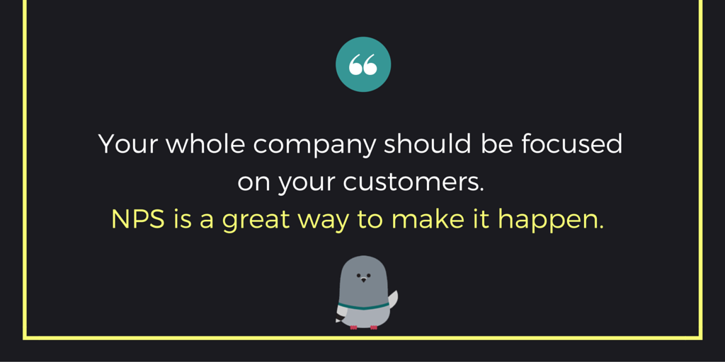 NPS does wonders for customer-centricity