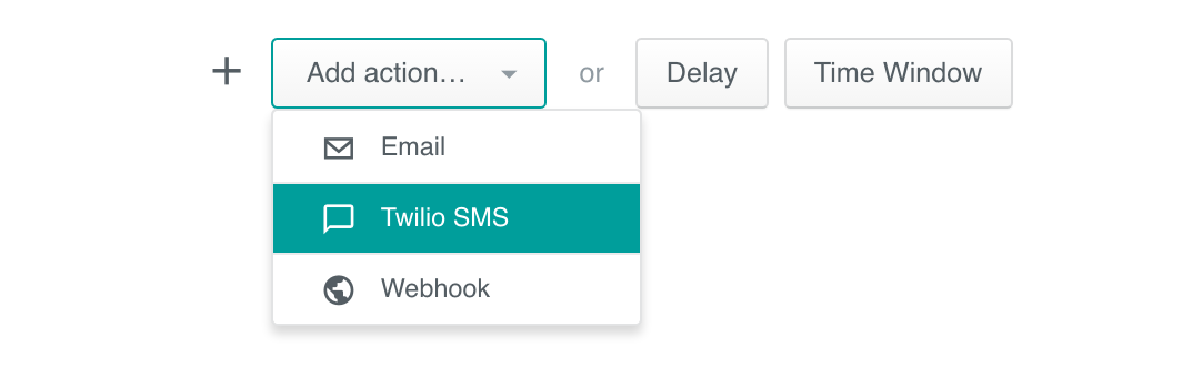 Add Twilio to your Campaign