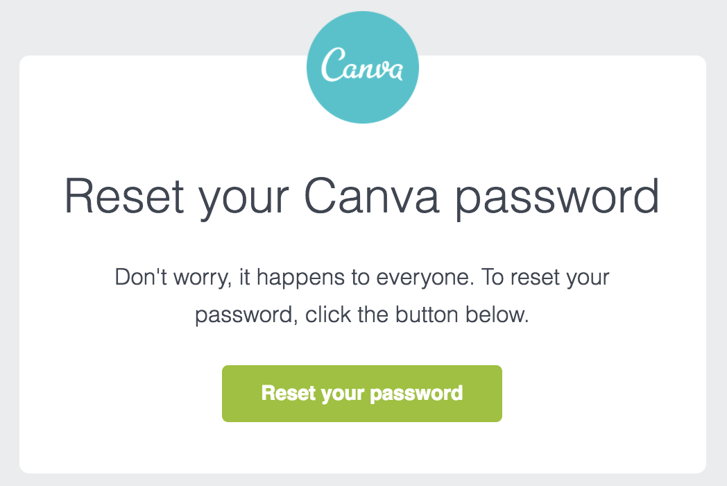 best transactional emails Canva