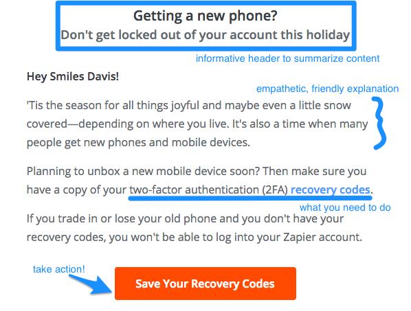 transactional email best practices Zapier