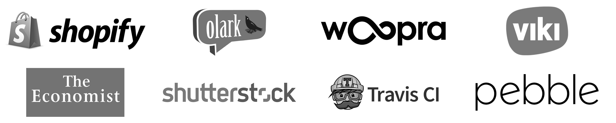 Shopify, Viki, and Pebble are just some of the companies that use and trust Customer.io!